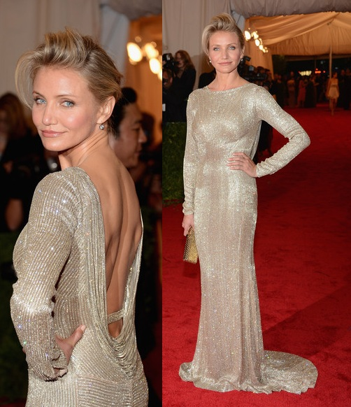 Cameron Diaz in Stella McCartney - 2012 Met Ball