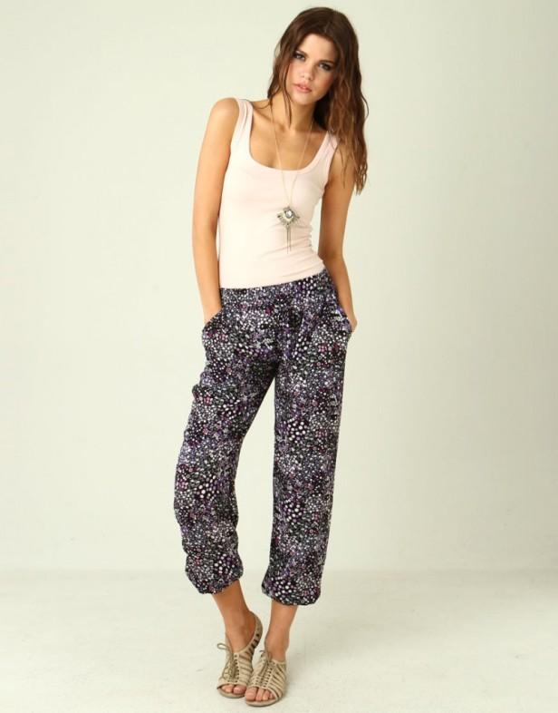 bubles-black-printed-summer-pants-802x1024