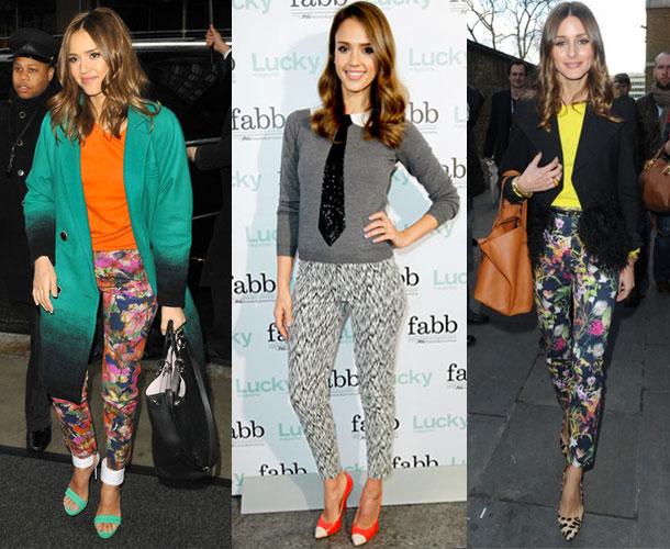 Celebrities-fashion-trend-printed-pants