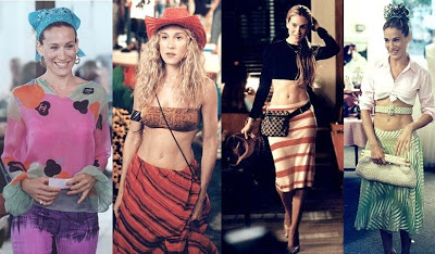 crazy carrie bradshaw sex and the city fashions