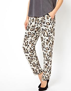 Asos.com Selected Leo Animal Print Pants, $59