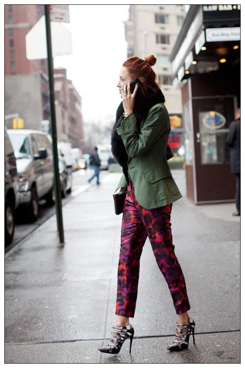 Printed-Pants-army-blazer