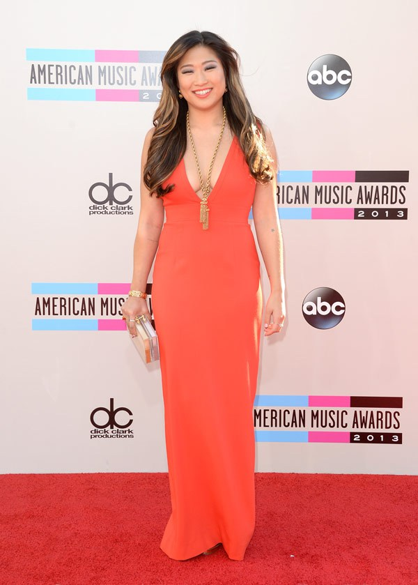 jenna-ushkowitz-american-music-awards-2013