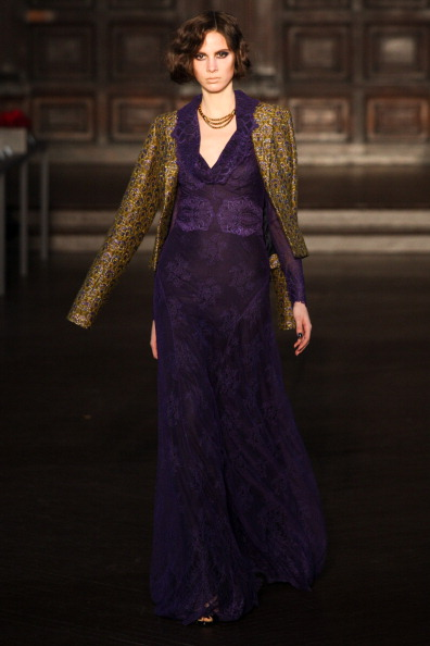 L'Wren Scott - Presentation - Fall 2012 Mercedes-Benz Fashion Week