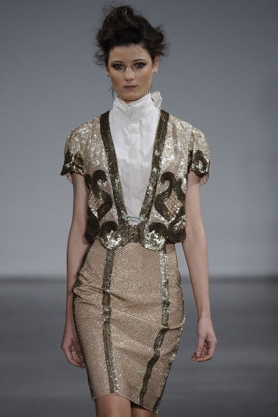 L'Wren Scott - Presentation - Spring 2012 Mercedes-Benz Fashion Week