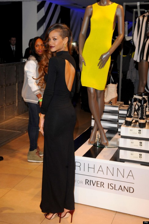 Rihanna for River Island Collection Launch - London