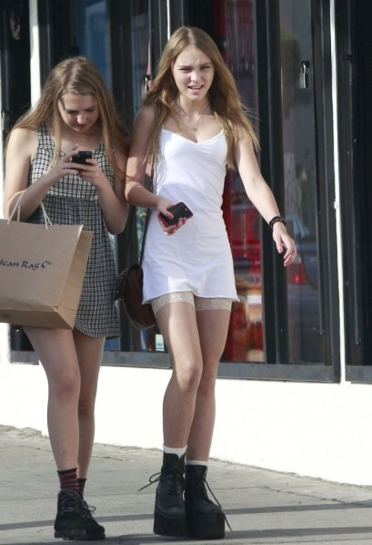 Lily+Rose+Depp+Out+Shopping+Friends+Cu1iHPfxQHmx