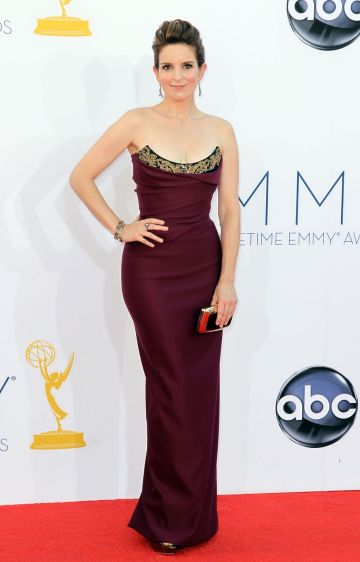 tina-fey-red-cerpet-2012-emmys