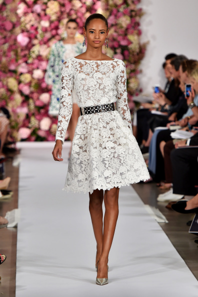 Oscar De La Renta - Runway - Mercedes-Benz Fashion Week Spring 2015