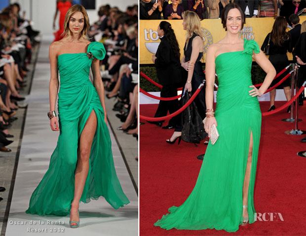 Emily-Blunt-In-Oscar-de-la-Renta-2012-SAG-Awards